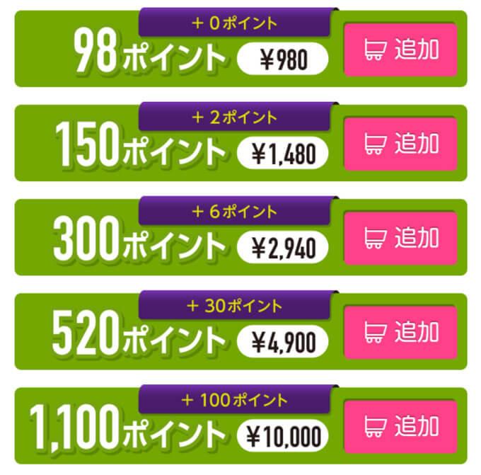 めちゃ近の料金1
